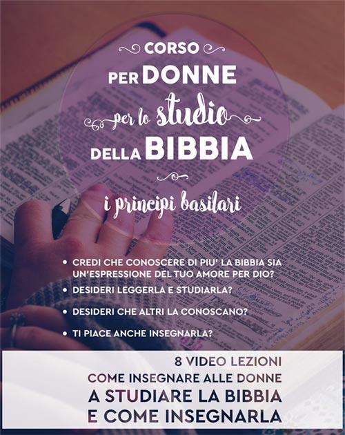 corso bibbia donne